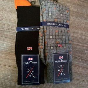 f8d92c4d876f7 2 Pair NWT Mens Sock Assortment